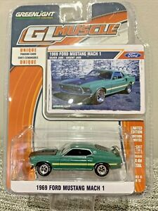 Greenlight GL Muscle - 1969 Ford Mustang Mach 1 - 1:64 Die-Cast