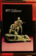 hobby fan 1/35 U.S Marines Battle of Hue 1968 with base 2 figures resin