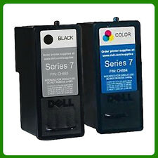 FST BRAND Black and Colour Dell All-in-one 966 968 968w Ink Cartridges Series 7