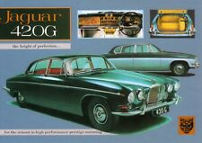Jaguar 420G 1967 Car Jumbo Fridge Magnet (N)