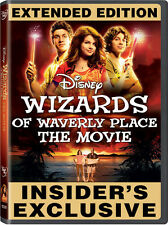 Wizards of Waverly Place: The Movie [Extended Edition] (2009, DVD NIEUW) WS