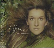 """That's The Way It Is Celine Dion Japanese CD single (CD5 / 5"""") promo ESCA-8077"""