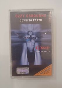 Ozzy Osbourne Down to Earth cassette Russia SEALED
