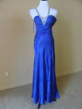 NWOT Sean Collection Sleeveless Embroidered Gown SZ.4 Purple
