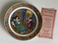 Hamilton - 1986 Golden Classic by Carol Lawson Rumpelstiltskin Plate 22K Gold