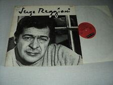 SERGE REGGIANI 33 TOURS LP FRANCE SERGE GAINSBOURG BORIS VIAN MOUSTAKI