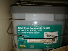 Composite Deck and Wood Screws up to 1,750 count Hillman