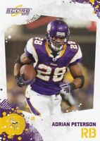 2010 Panini Score Football Cartes à Collectionner, #159 Adrian Peterson