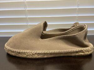 Manebi + SuitSupply Suede Handmade Espadrilles Slip On Mens Shoes Size 43 (10)