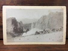 c.1880 HORACE S. POLEY UNION PACIFIC DENVER GULF COLARADO SPRINGS PHOTOGRAPH