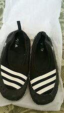 adidas Climacool Jawpaw Slip On Black White Men Sandal Slides Water Sport M29553