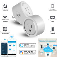Smart Socket US Plug Switch For Amazon Alexa/Smart Things Hub App Remote Control