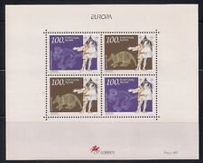 Portugal- Azores  1992  Sc #427a  Europa  s/s  MNH  (41109)