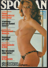 SPONTAN Magazin Oktober 1975 Gondel-Verlag / beautiful women naked nude nackt