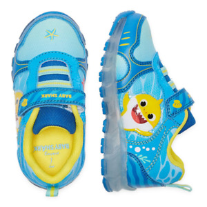 New Pinkfong Baby Shark Light Up Sneakers 7 8 9 10