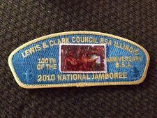 MINT 2010 JSP Lewis & Clark Council Blue Backing