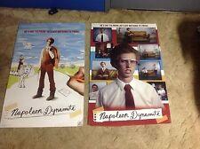Original 2 Napoleon Dynamite Poster 34x24apx album Cd dvd movie. vintage