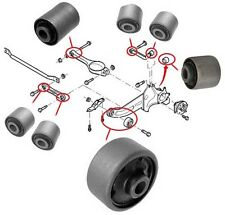 Rear Axle Suspension Trailing Control Arm Wishbone Bushes Bushing Ford Mondeo