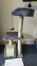 Roypet Large Cat Tree With Cat Condo, Scratch Post Play Toy #GIK