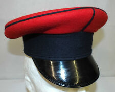 QUEENS ROYAL LANCERS PEAKED DRESS CAP - Size 53cm , British Army Issue