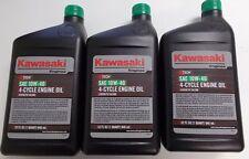 Kawasaki OEM 10W40 Motor Oil 3 Quart Special 99969-6296