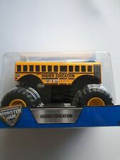 Hot Wheels Monster Jam *HIGHER EDUCATION * scale 1/24 New & rare  2017 🔥🔥