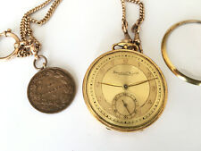 Rare IWC Schaffhausen Pocket Watch cal.97 Award King Boris of Merit Gold plated