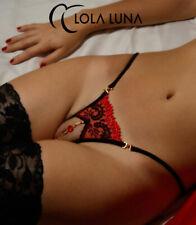 LOLA LUNA String VICTORIA open S M L XL