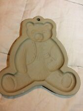 Brown Bag Cookie Art 1984 Bear Holding Small Bear