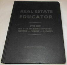 REAL ESTATE EDUCATOR By Walter J. Lumbleau (644 Pages) (SKU# 1857)