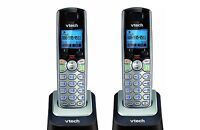 2 x Vtech DS6101 2 Line Accessory Expansion Handset For DS6151