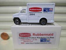 Matchbox 2004 RUBBERMAID UNITED WAY Ford Box Truck New Mint in Mint Box 1 of 150