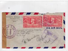 NICARAGUA: 1943 Censored Airmail cover to USA (C36362)