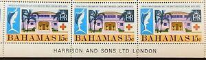BAHAMAS 1970 SG353 15c. CENTENARY OF BRITISH RED CROSS  -  MNH