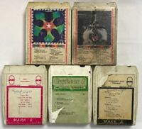 Lot Of Five (5) Steppenwolf 8 Track Tapes Early/ Gold Tested And Working