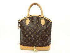 Louis Vuitton Authentic Monogram LOCKIT Hand Bag Purse Auth LV