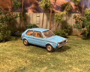 1977 VW Rabbit Custom Weathered Rusty Barn Find 1/64 Diecast Junkyard Car Rust
