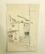 PAILLARD Henri Pierre (1844-1912) Attribué à. Rue à Constantine Algérie