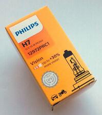PHILIPS vision H7 12v 55w PX26D salida de alta hasta + 30% Bombilla para FARO