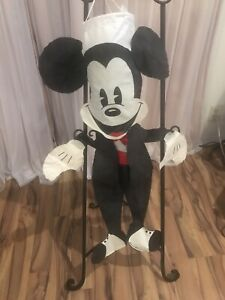 Vintage Disney Mickey Mouse Flag Outdoor Garden House Windsock