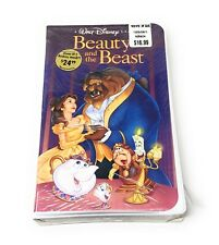 Black Diamond Classic Disney Beauty And The Beast VHS Video New Old Stock Sealed