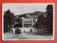TRIESTE Stazione Centrale FFSS treni automobili vecchia cartolina