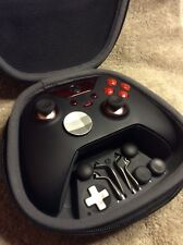 Elite Xbox One 1 Controller - Custom RED Led,Buttons,ABXY w/Letters,Rings, Free