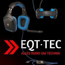 Top 7.1 Design Gamer Gaming Headset Kopfhörer Mikrofon PC PS4 PC Zubehör blau