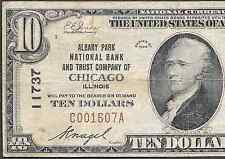 1929 $10   ❀❀ ALBANY PARK,IL ❀❀     HARD TO FIND