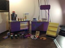 Barbie Mini Mart Counter With Working Cash Register Lot