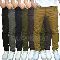Twisted Faith Mens Designer Slim Fit Chinos - Available in 5 Colours, BNWT