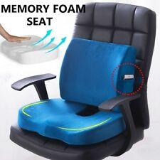 Lumbar Support Pillow Seat Chair Back Cushion Memory Foam Ergonomic  B ♡