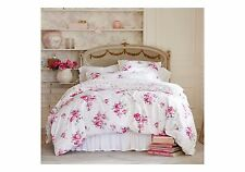 NEW Simply Shabby Chic TWIN Pink Sunbleached Floral Duvet Cover & Sham Set 2 pc
