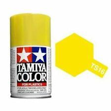 Tamiya Mini Spray Yellow  TS 16   #85016   NEW